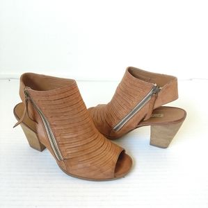 Paul Green Cayanne sandals tan ankle boots 8